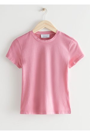 & OTHER STORIES Women T-shirts - Fitted Crewneck T-Shirt