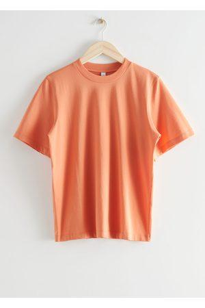 & OTHER STORIES Women T-shirts - Boxy Organic Cotton T-Shirt