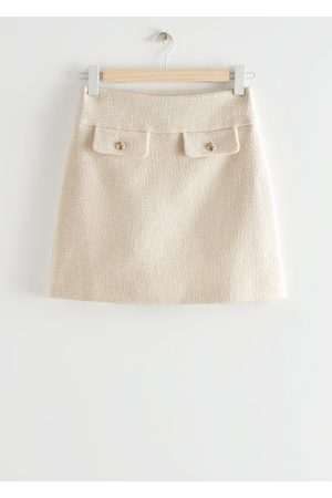 & OTHER STORIES Flap Pocket Mini Skirt