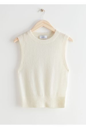 & OTHER STORIES Women Tank Tops - Alpaca Blend Knit Vest