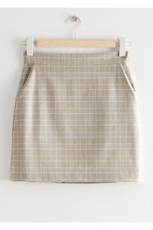 & OTHER STORIES Women Pencil Skirts - Mini Pencil Skirt