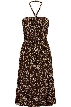 Ralph Lauren Women Party Dresses - Raygan Silk Crepe Floral Cocktail Dress