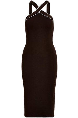 Ralph Lauren Women Casual Dresses - Stretch Silk Halter Sweater Day Dress