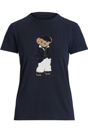 Ralph Lauren Women Polo Shirts - Deauville Polo Bear Pima Tee
