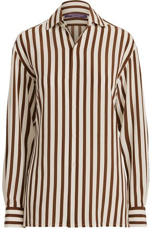 Ralph Lauren Women Shirts - Capri Striped Cotton Shirt
