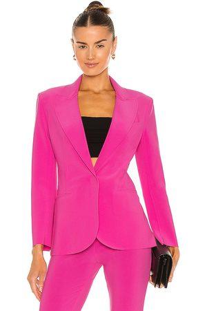 Norma Kamali X REVOLVE Single Breasted Jacket in .