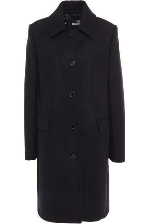 Love Moschino Woman Wool-blend Twill Coat Size 38