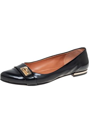 Givenchy Leather Shark Tooth Ballet Flats Size 40