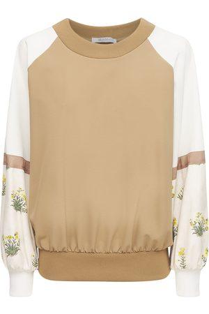 Max Mara Women Sweatshirts - Stretch Jersey Sweatshirt