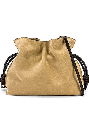 Loewe Women Clutches - Flamenco Clutch in Beige