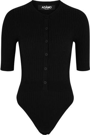 Andrea Adamo Women Bodies - Ribbed-knit bodysuit