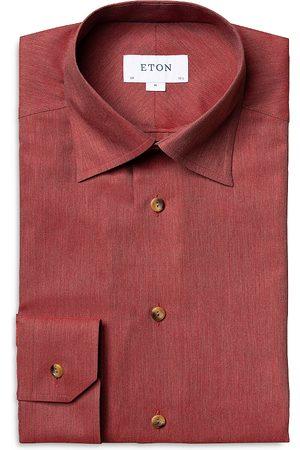 Eton Flannel Slim Fit Dress Shirt