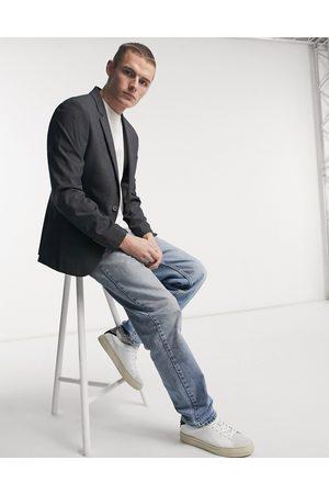 ASOS Skinny suit jacket in charcoal-Grey