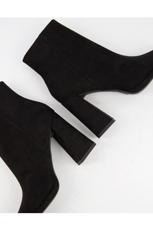 ASOS Eternity high heeled ankle boots in