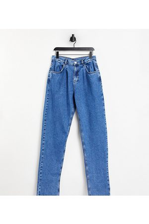 Reclaimed Vintage Inspired '83 unisex relaxed fit jean in vintage blue-Blues