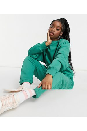 ASOS Women Pants - Hourglass tracksuit oversized shoulder pad sweat / oversized sweatpants in