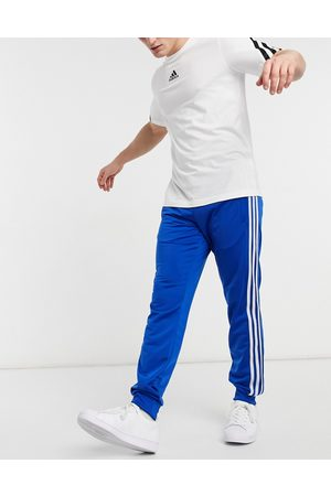 adidas 3-Stripes Firebird sweatpants in blue-Blues