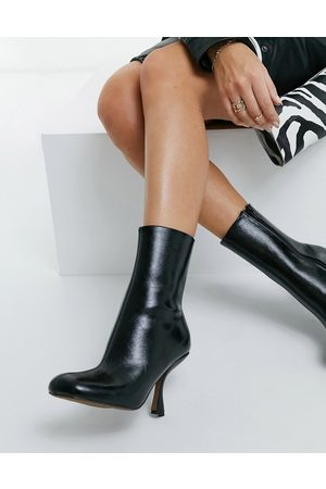ASOS Electric high heeled ankle boots in