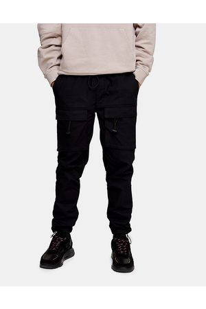 Topman Front pocket cargo pants in