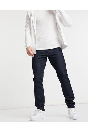 Levi's 511 slim fit jeans in mid knight flex stretch dark indigo rinse wash-Blues