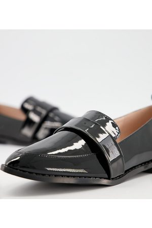 Raid Wide Fit Norah flat shoes in patent