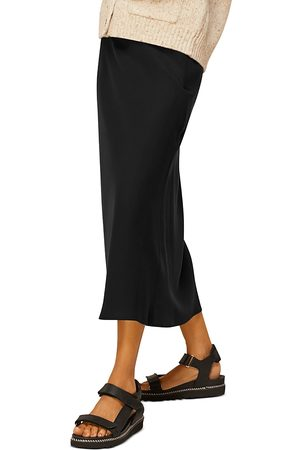 Whistles Bias Cut Midi Skirt