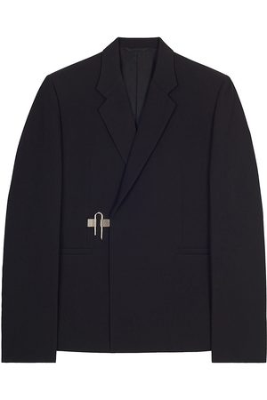 Givenchy Men's Padlock-Closure Wool Blazer - - Size 42