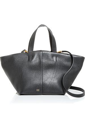 Mansur Gavriel Tulipano Leather Shoulder Bag