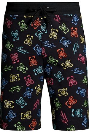 Moschino Men's Teddy Allover Print Shorts - - Size XL