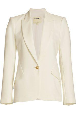 L'Agence Women's Chamberlain Blazer - Ivory - Size 6