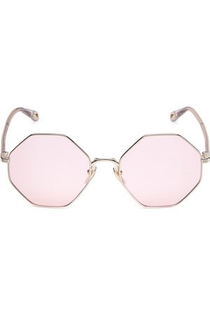 Chloé Women's 57MM Octagon Sunglasses With Clip
