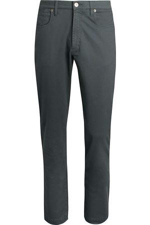 Saks Fifth Avenue Men's COLLECTION Cotton Stretch Five-Pocket Pants - Charcoal - Size 31