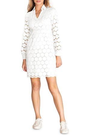 Trina Turk Women's Overlook Lace Polo Dress - Wash - Size 6