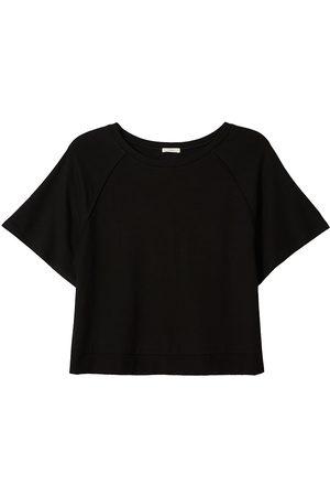 Eberjey Women's Blair Short-Sleeve Sweatshirt - - Size Medium