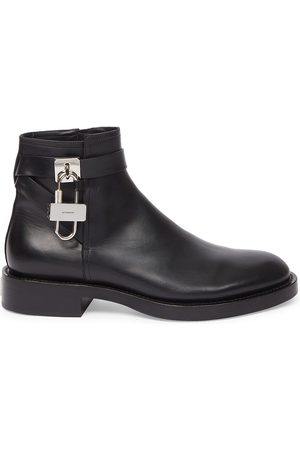 Givenchy Men's The Lock Leather Ankle Boots - - Size 8
