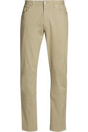 Saks Fifth Avenue Men's COLLECTION Cotton Stretch Five-Pocket Pants - Safari - Size 33