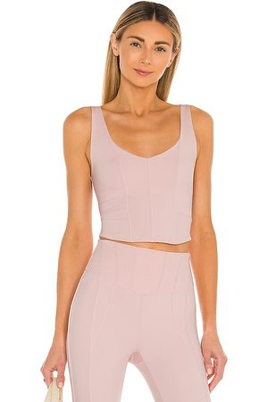 Free People X FP Movement Grand Finale Cami Solid in Mauve.