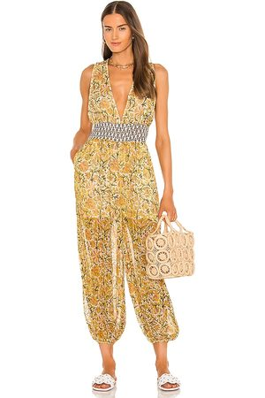 Free People Marias Jumpsuit in Yellow.