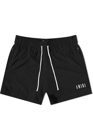AMIRI Men Swim Shorts - Logo Swim Short