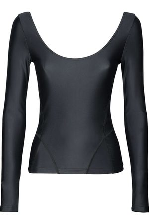 Balenciaga Women Tops - Techno Jersey Scoop Neckline Top