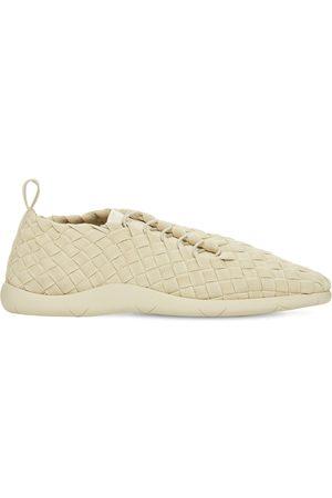 Bottega Veneta Intrecciato Tech Low Top Sneakers