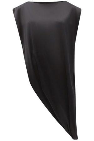 Givenchy Women Tops - Asymmetric Looped-hem Satin Top - Womens