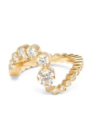 SOPHIE BILLE BRAHE Women Rings - Grand Ocean Ensemble Diamond & 18kt Ring - Womens