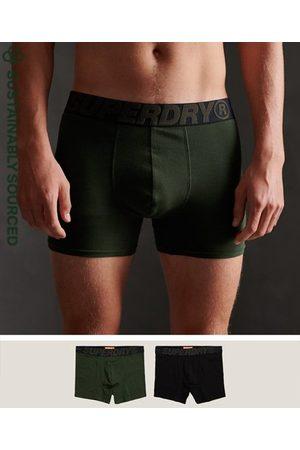 Superdry Men Socks - Organic Cotton Boxer Double Pack