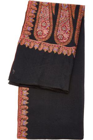 Kashmir Loom Exclusive Embroidered Cashmere Shawl - Color: - Material: Cashmere - Moda Operandi