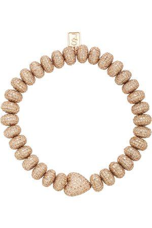 SHERYL LOWE Women's 14K Rose And Diamond Bracelet - - Moda Operandi