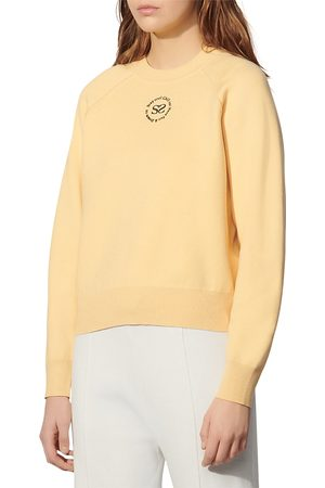 Sandro Antigua Embroidered Sweatshirt