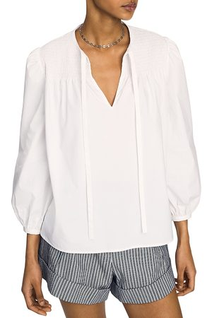 Derek Lam Women Tops - Austin Smocked Top