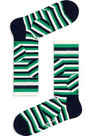 Happy Socks Jumbo Dot Striped Socks