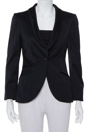 Gucci Midnight Wool Button Front Blazer M